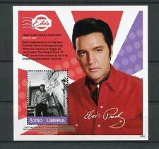 Liberia 2015 MNH Elvis Presley His Life Stamps 1v S/S II Las Vegas Celebrities