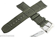 Raymond Weil 20mm Womens Dark Green Leather for Tango Watch Band Strap
