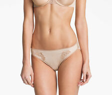 Chantelle Hedona brief XL UK16 RRP 32 EUR luxury nude beige skintone lace