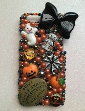 Halloween Themed Decoden Phone Case iPhone 4/4s/5/5c/5s/6/6s Samsung S3/4/5/6/7
