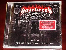 Hatebreed: The Concrete Confessional CD 2016 *Includes Band Signed Booklet!* NEW