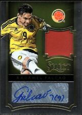 2015 Select Jersey Autographs #35 Radamel Falcao Auto Jersey #18/46 - NM-MT