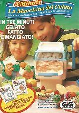X1517 La Macchina del Gelato - Gig - Pubblicità del 1991 - Vintage advertising
