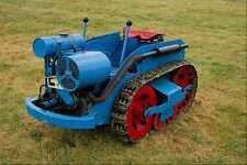 802087 1940 Ransomes M62 Tractor A4 Photo Print