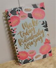 OCS Floral Make Today Ridiculously Amazing Hard Back Spiral JOURNAL Notebook