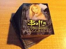 Buffy temporada 4 completo conjunto básico de 90 Tarjetas