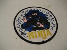 NEW Ninja Japanese Warrior Fighter Sew Iron on Patch Embroided