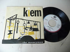"KIEM"" MONEYMAN"" -disco 45 giri TECHNOLOGY It 1978"" PERFETTO"
