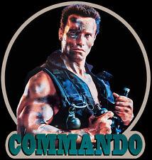 80's Schwarzenegger Classic Commando Poster Art custom tee Any Size Any Color