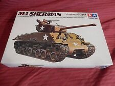 1/35 Tamiya Motorized US Army Tank M4A3E8 Easy Eight Sherman # 18 F/S Bags OB