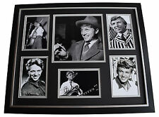 Tommy Steele SIGNED Framed Photo Autograph Huge display Music Film AFTAL COA
