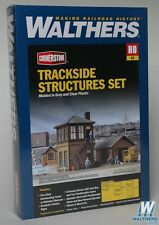 3530 Walthers Cornerstone Railroad Trackside Structures Set HO Scale