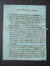 Lettera Autografa Magistrini Matematica 1814 Antonio Cagnoli Scienze Autografo
