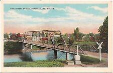 Vine Street Bridge in Poplar Bluff MO Postcard