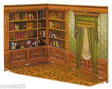 Room Box for Dolls CABINET Dollhouse Miniature Scale 1:12 Model Kit