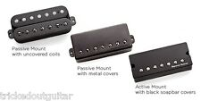 SEYMOUR DUNCAN PEGASUS 8 STRING BRIDGE HUMBUCKER PASSIVE MOUNT OPEN COILS BLACK
