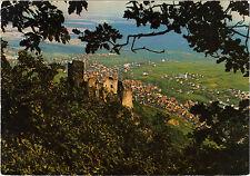 68 - cpsm - RIBEAUVILLE vue du château Girsberg