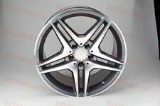 "18"" MERCEDES BENZ AMG STYLE RIMS WHEELS GUNMETAL W204 SLK CLK 4MATIC COUPE C300"