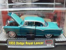 M2 AUTO-THENTICS - RELEASE 04 - 1955 DODGE ROYAL LANCER - 1/64 DIECAST