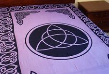 "Tapestry ""Triquetra (Charmed)"" Purple 72 x 108 - NEW FREE SHIPPING"