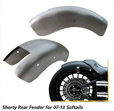 SHORTY BOBBED REAR FENDER FOR HARLEY SOFTAIL MODELS 07-13 BOBBER CHOPPER
