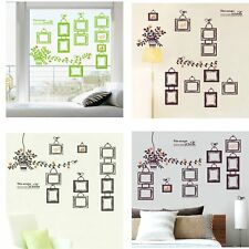 Fashion DIY Picture Photo Frame Removable Wall Sticker Mural Home Decor Decal