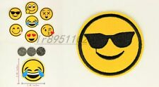 2.48 in anixous Emoticon Iron on Patches Embroidered Badge Applique patch