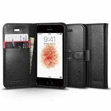 Spigen Wallet S Case Black for iPhone SE/5S/5