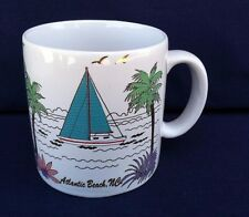 Atlantic Beach North Carolina Coffee Mug Ocean Marine Life Sea Collectible Good
