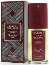 Revillon pour Homme After Shave Tonic 60 ml Spray Neu OVP