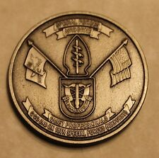 10th Special Forces Group Airborne 2nd Battalion C Co C2 Army Challenge Coin