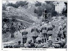 Feldgottesdienst vor der Schlacht Historische Aufnahme von 1915