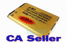 Gold High Capacity J-M1 JM1 Battery 2430mAh for BlackBerry BOLD 9790 9900 9930