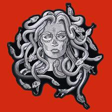Medusa  EMROIDERED IRON ON MC BIKER PATCH