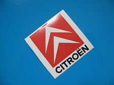 CITROEN chevron race rally sticker/decal x2