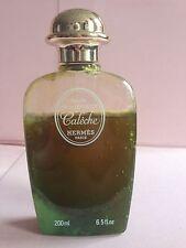 Hermès Calèche Bain Mousant Full Plastic Bottle 200 ML 6.5 OZ Vintage Hermes