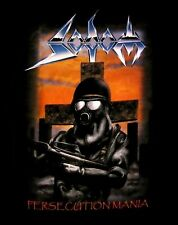 SODOM cd cvr PERSECUTION MANIA / GROUP PHOTO BACK Official SHIRT MED new