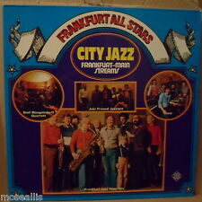 Frankfurt All Stars - City Jazz, Mangelsdorff,Sauer, Freund Telefunk 1975 D 2LP
