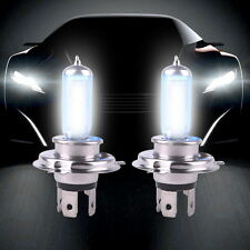 2PCS H4 100W Super White Headlight Xenon Halogen Globes Car Light Lamp Blue Bulb