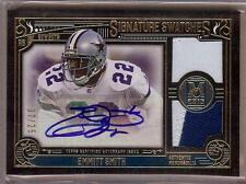 2015 TOPPS MUSEUM COLLECTION EMMITT SMITH AUTO DUAL JERSEY PATCH 07/25!!