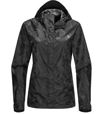 The North Face Women's Novelty Venture Hooded Jacket Black Camo  M NWT Ret $120