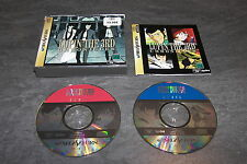 JEU SEGA SATURN JAP LUPIN THE 3RD CHRONICLES SPIKE OCCASION