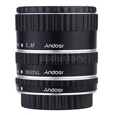 Andoer Metal TTL Auto Focus AF Macro Extension Tube Ring for Canon EOS EF Z6T6