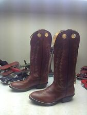 Women's Red Leather FRANCO SARTO Waco Western Boots 10