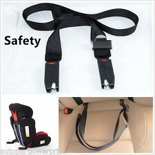 1× Car Baby Safe Seat Strap Isofix Latch Soft Link Belt Adjustable Anchor Holder