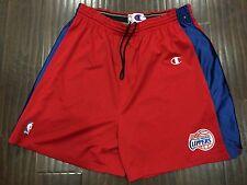 Vintage�� Champion NBA Los Angeles Clippers Authentic Pro Cut Shorts Sz 50 PE LE
