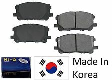 Front Ceramic Brake Pad Set With Shims For Honda Accord (2.4L engine) 2003-2015