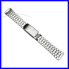 18mm Generic Seiko 5 Styl Stainless Steel Watch Band Bracelet / 6138-8030 Hooded
