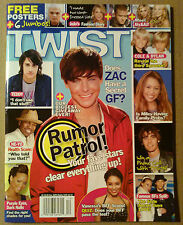 Magazine Twist ~2006~Justin Timberlake~Zac Efron~Adam Brody~Cole & Dylan Sprouse