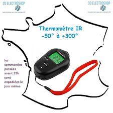 thermomètre sans contact infra rouge -50 à +300°c